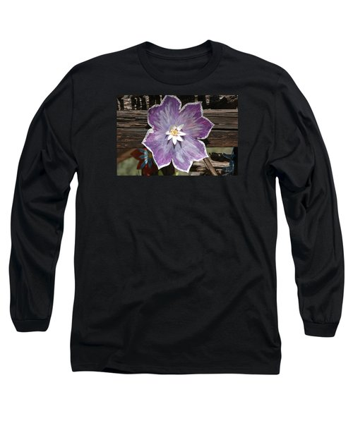 Tin Flower Long Sleeve T-Shirt