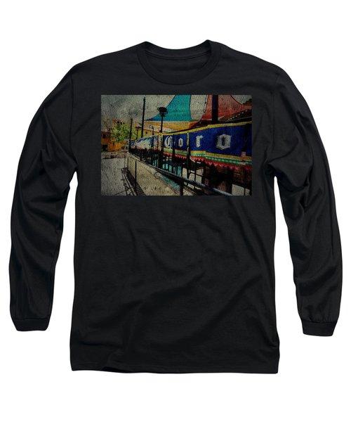 Tip'em Back Long Sleeve T-Shirt