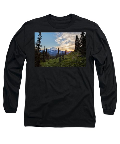 Tipsoo Field Of Summer Long Sleeve T-Shirt