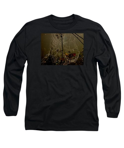 Orb Lites Long Sleeve T-Shirt by Laura Ragland