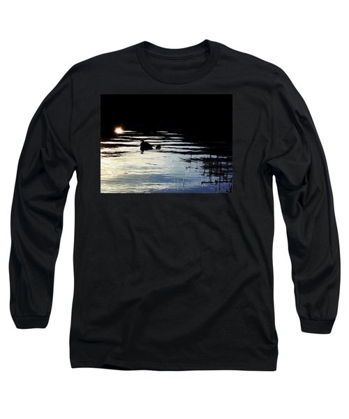 Long Sleeve T-Shirt featuring the photograph To The Light by Menega Sabidussi