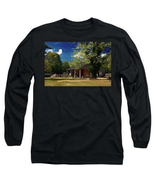 Tobacco Barn Long Sleeve T-Shirt by Christopher Holmes