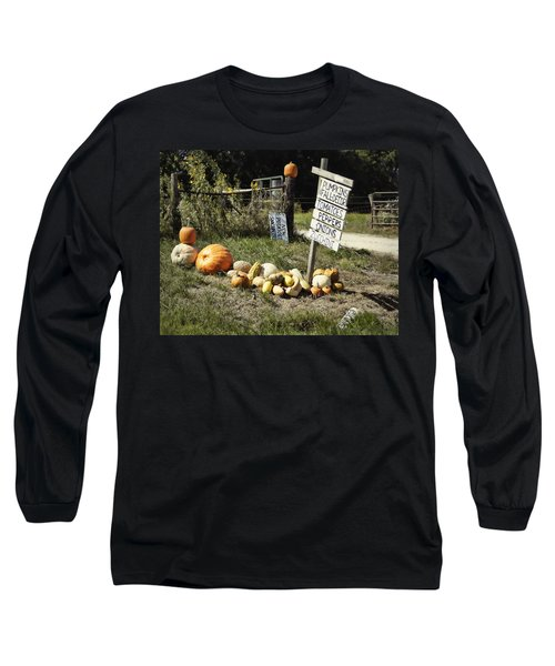 Long Sleeve T-Shirt featuring the photograph Today's Harvest by Cricket Hackmann
