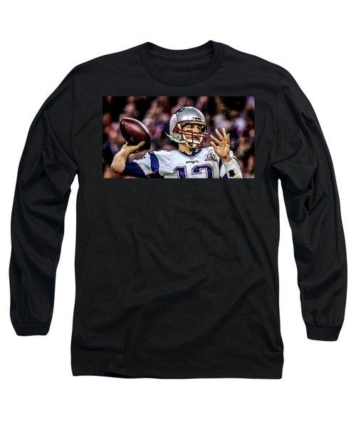 Tom Brady - Touchdown Long Sleeve T-Shirt