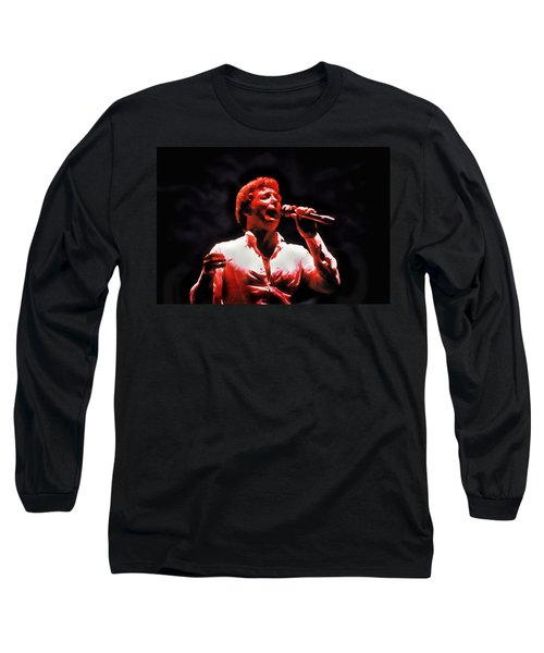 Tom Jones In Concert Long Sleeve T-Shirt