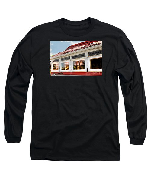 Tom's Diner Ghost Long Sleeve T-Shirt