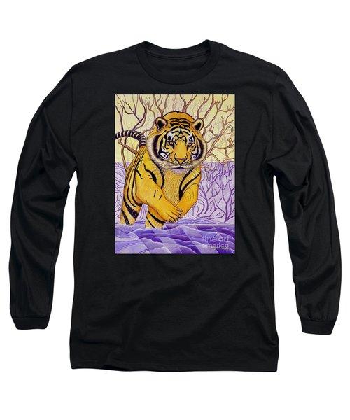 Tony Tiger Long Sleeve T-Shirt by Joseph J Stevens