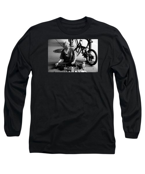 Long Sleeve T-Shirt featuring the photograph Too Much Homelessness by Monte Stevens