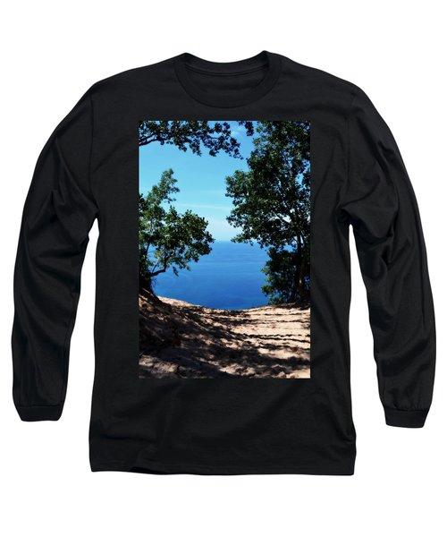Top Of The Dune At Sleeping Bear Ll Long Sleeve T-Shirt