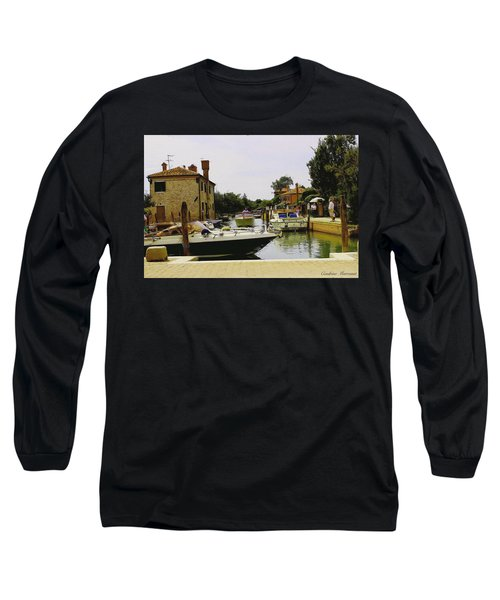 Long Sleeve T-Shirt featuring the photograph Torcello Island by Cendrine Marrouat