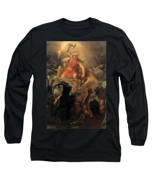 Tor's Fight With The Giants Long Sleeve T-Shirt
