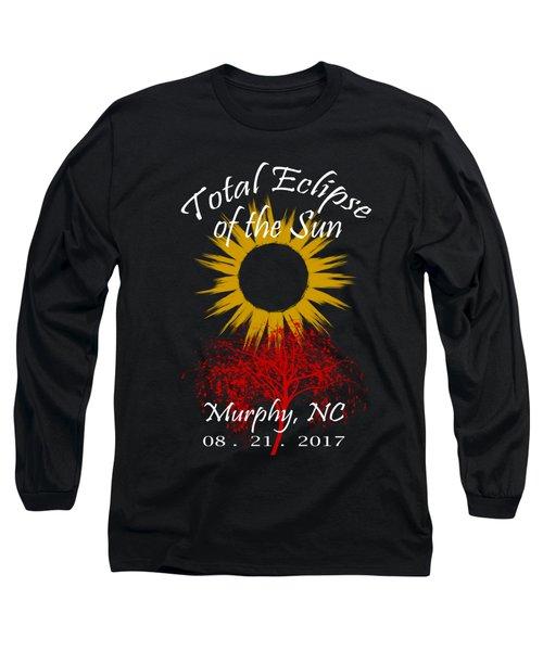 Total Eclipse T-shirt Art Murphy Nc Long Sleeve T-Shirt