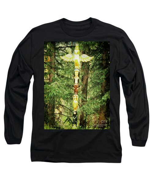 Totem Pole Long Sleeve T-Shirt