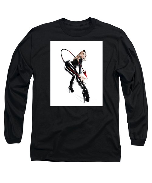 Touch My Tail Long Sleeve T-Shirt