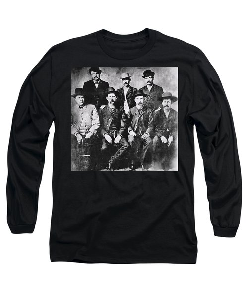 Tough Men Of The Old West Long Sleeve T-Shirt