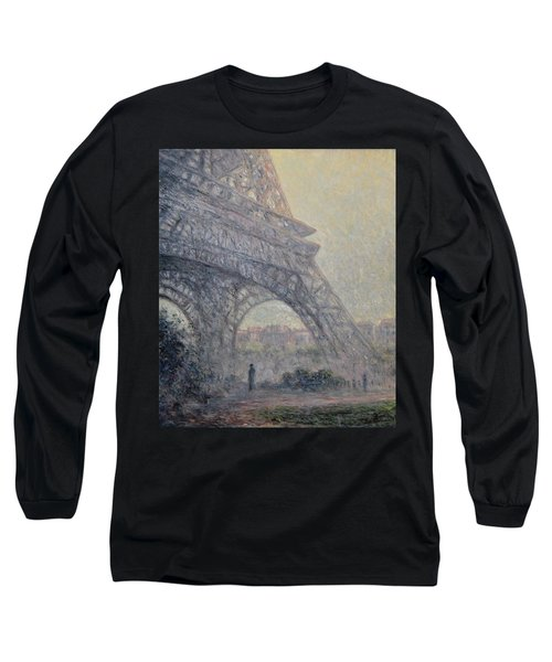 Paris , Tour De Eiffel  Long Sleeve T-Shirt by Pierre Van Dijk