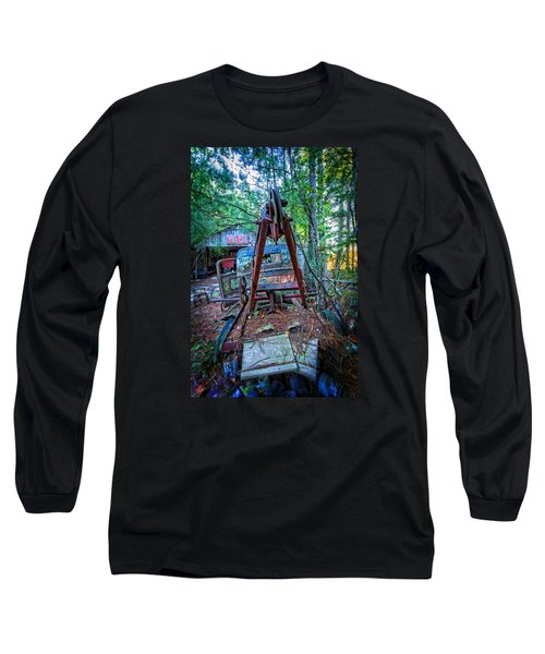 Tow No More Long Sleeve T-Shirt by Alan Raasch