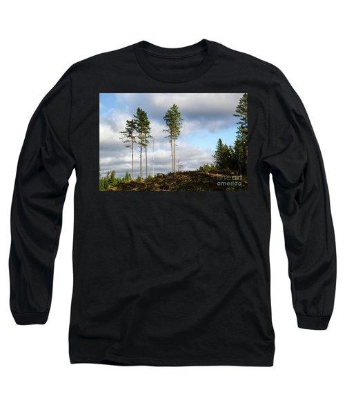 Towards The Sky Long Sleeve T-Shirt