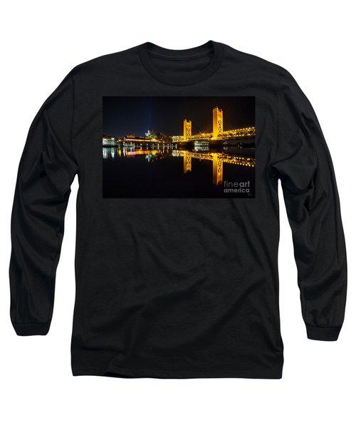 Tower Bridge Sacramento Long Sleeve T-Shirt