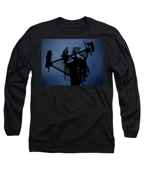 Long Sleeve T-Shirt featuring the photograph Tower Top by Robert Geary