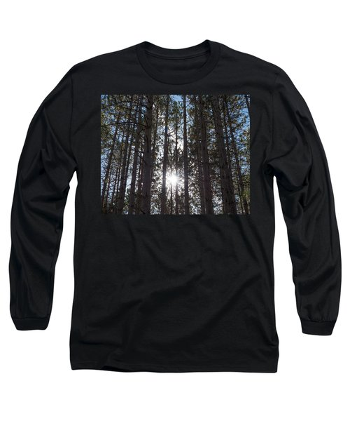 Towering Pines Long Sleeve T-Shirt
