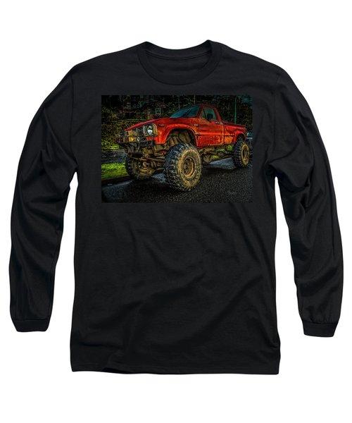 Toyota Grunge Long Sleeve T-Shirt
