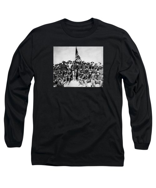 Tr And The Rough Riders Long Sleeve T-Shirt