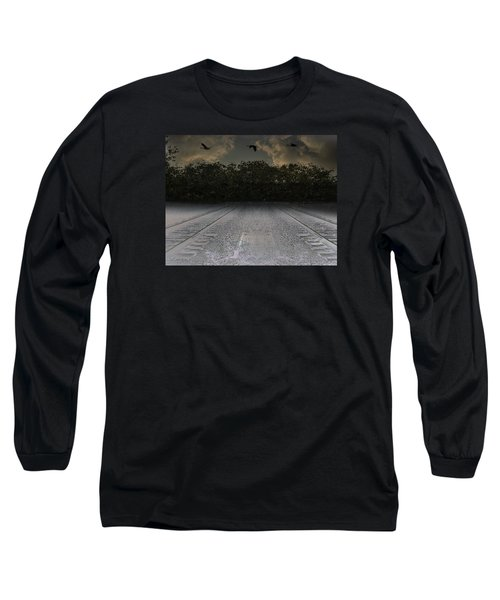 Tracks In The Sky Long Sleeve T-Shirt