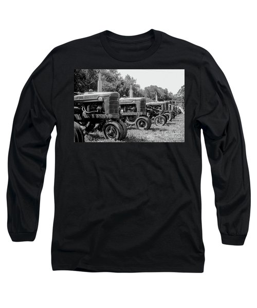 Tractors Long Sleeve T-Shirt by Brian Jones