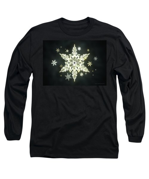 Traditional Sunlight Snowflakes Long Sleeve T-Shirt