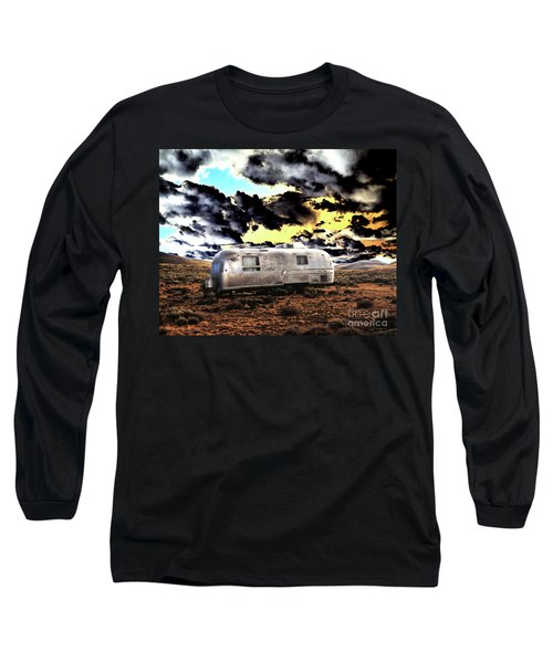 Long Sleeve T-Shirt featuring the photograph Trailer by Jim and Emily Bush
