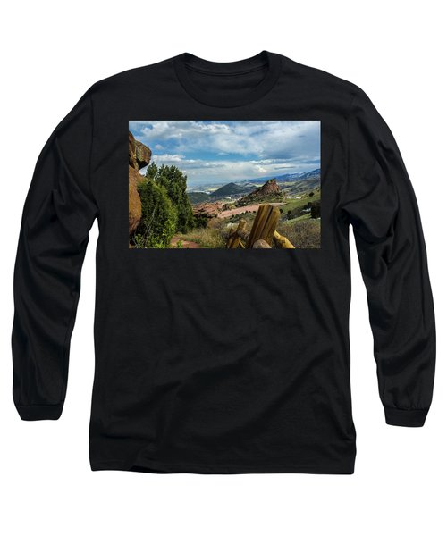 Trails At Red Rocks Long Sleeve T-Shirt