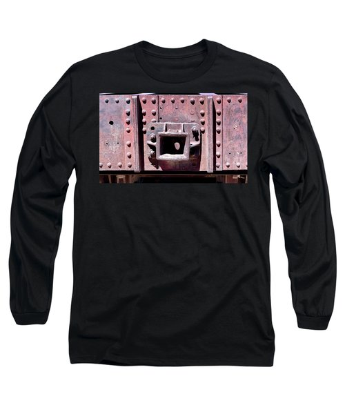 Train Abstract No. 9-1 Long Sleeve T-Shirt