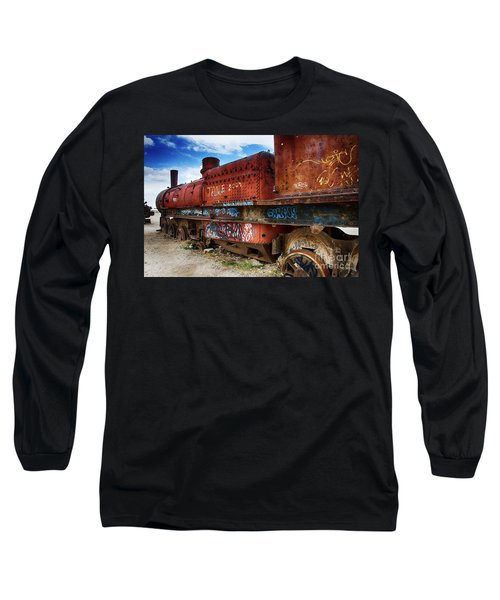 Train Graveyard Uyuni Bolivia 18 Long Sleeve T-Shirt