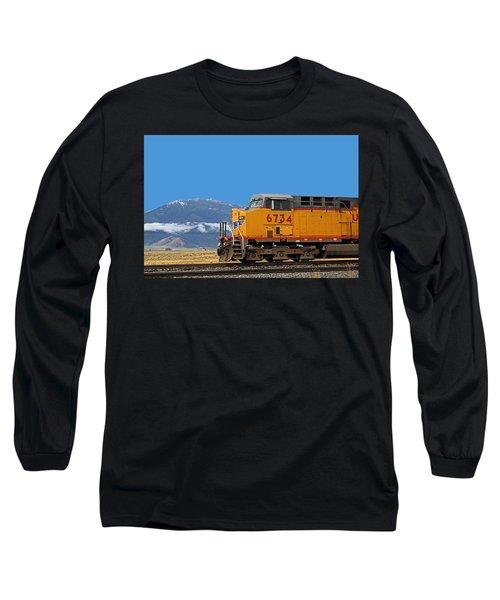Train In Oregon Long Sleeve T-Shirt