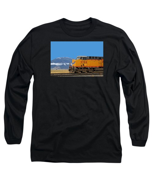 Train In Oregon Long Sleeve T-Shirt