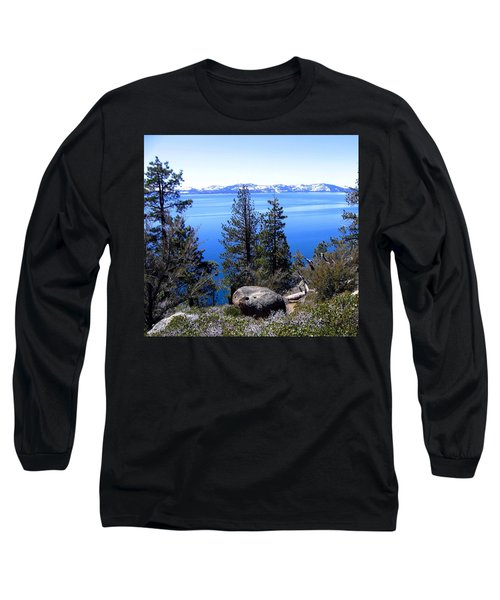 Tranquil Lake Tahoe Long Sleeve T-Shirt