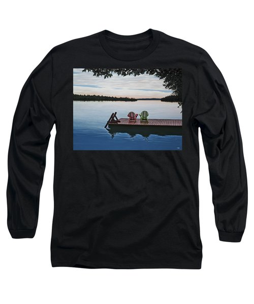 Tranquility Long Sleeve T-Shirt by Kenneth M  Kirsch