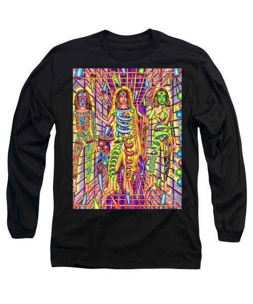 Transcendental Junction Of A Cosmic Grotto Long Sleeve T-Shirt