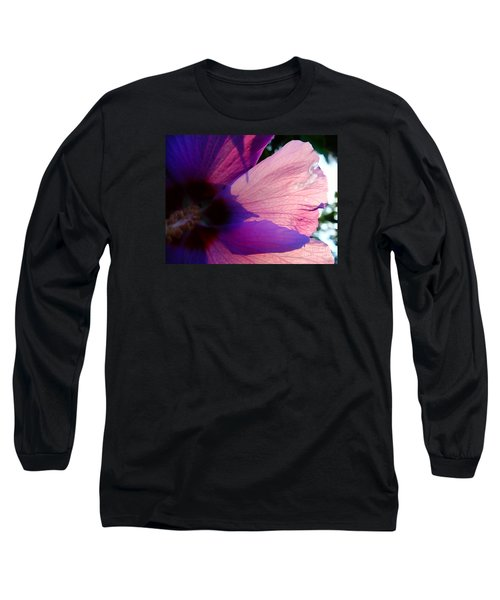 Transparent Long Sleeve T-Shirt by Justin Moore