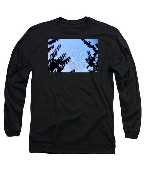 Transparent Web Long Sleeve T-Shirt
