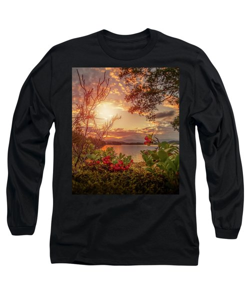 Treasures In Nature Long Sleeve T-Shirt by Rose-Marie Karlsen