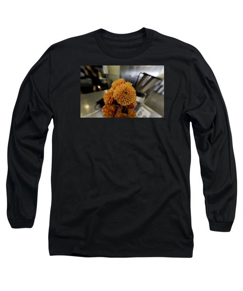 Long Sleeve T-Shirt featuring the photograph Treats At The Ice Cream Parlor by Lora Lee Chapman