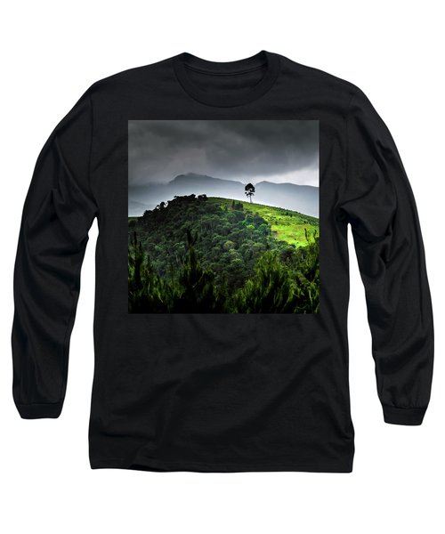 Tree In Kilimanjaro Long Sleeve T-Shirt