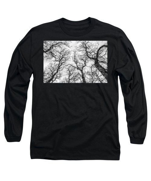 Long Sleeve T-Shirt featuring the photograph Tree Tops by Sue Smith