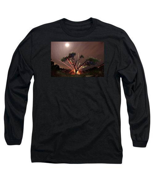 Treeburst Long Sleeve T-Shirt by Andrew Nourse