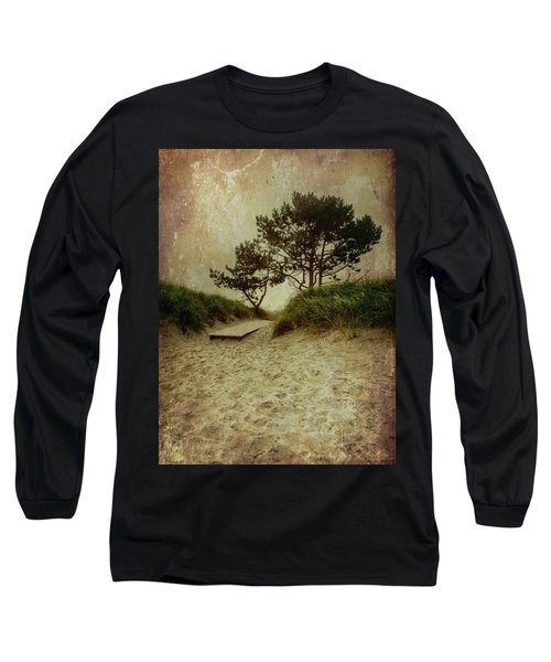 Trees By The Sea Long Sleeve T-Shirt