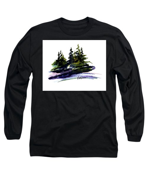 Trees Long Sleeve T-Shirt by Marti Green