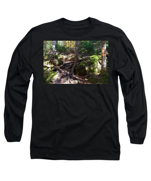 Trees - Mont Tremblant National Park Long Sleeve T-Shirt