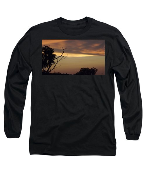 Trees Of The Lake Long Sleeve T-Shirt by Don Koester